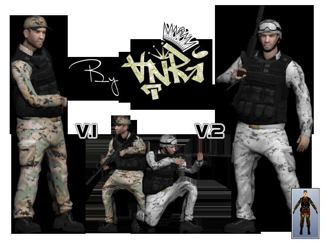 Mega SkinPack HD Skins - By Anry Army